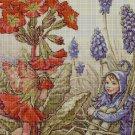 Flower fairy 42 cross stitch pattern in pdf  DMC