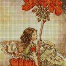 Flower fairy 44 cross stitch pattern in pdf  DMC