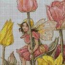 Flower fairy 45 cross stitch pattern in pdf  DMC