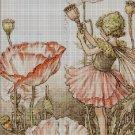 Flower fairy 47 cross stitch pattern in pdf  DMC