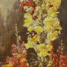 Flower fairy 48 cross stitch pattern in pdf  DMC