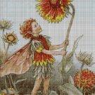 Flower fairy 49 cross stitch pattern in pdf  DMC
