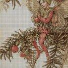 Flower fairy 51 cross stitch pattern in pdf  DMC