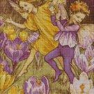 Flower fairy 53 cross stitch pattern in pdf  DMC