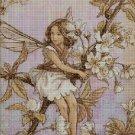 Flower fairy 56 cross stitch pattern in pdf  DMC