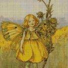 Flower fairy 59 cross stitch pattern in pdf  DMC