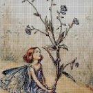 Flower fairy 61 cross stitch pattern in pdf  DMC
