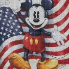 American Mickey Mouse cross stitch pattern in pdf