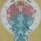 Horoscope cross stitch pattern in pdf DMC