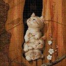 Little Cats 2 cross stitch pattern in pdf