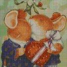 Love Mice cross stitch pattern in pdf