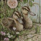 Mallards cross stitch pattern in pdf DMC
