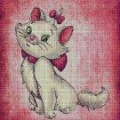 Marie - Aristocats cross stitch pattern in pdf
