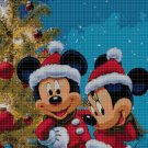 Mickey Mouse Christmas 2 cross stitch pattern in pdf DMC