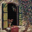 Open window cross stitch pattern in pdf DMC