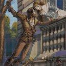 Romeo and Juliet cross stitch pattern in pdf