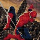 Spiderman 2 cross stitch pattern in pdf DMC