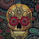 Sugar Skull 5 cross stitch pattern in pdf DMC