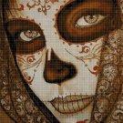 Sugar Skull 6 cross stitch pattern in pdf DMC