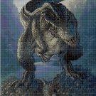T-Rex 2 cross stitch pattern in pdf DMC
