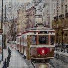 Streetcar 2 cross stitch pattern in pdf DMC