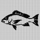 FISH 9 CROCHET AFGHAN PATTERN GRAPH