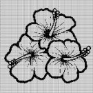 HAWAIIAN FLOWERS 2 CROCHET AFGHAN PATTERN GRAPH
