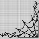 ART SPIDERWEB CROCHET AFGHAN PATTERN GRAPH
