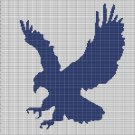 EAGLE 3 CROCHET AFGHAN PATTERN GRAPH
