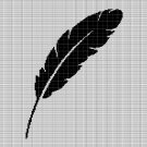 FEATHER 2 CROCHET AFGHAN PATTERN GRAPH