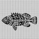 MAORI FISH CROCHET AFGHAN PATTERN GRAPH
