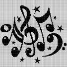 MUSIC 4 CROCHET AFGHAN PATTERN GRAPH