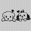PUPPIES 2 CROCHET AFGHAN PATTERN GRAPH