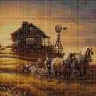 Harvest cross stitch pattern in pdf DMC