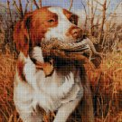 Hound cross stitch pattern in pdf DMC