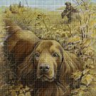 Hound 2 cross stitch pattern in pdf DMC
