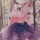 Anime girl 12 cross stitch pattern in pdf DMC