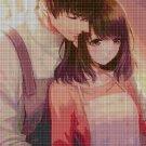 Anime lovers 12 cross stitch pattern in pdf DMC