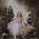 Little fairy 2 cross stitch pattern in pdf DMC
