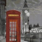 London in night cross stitch pattern in pdf DMC