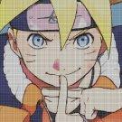 Naruto 3 cross stitch pattern in pdf DMC