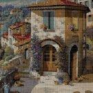Old house 2 cross stitch pattern in pdf DMC