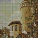 Old town 2 cross stitch pattern in pdf DMC