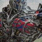 Optimus Prime cross stitch pattern in pdf DMC