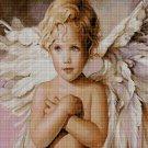 Little Angel 3 cross stitch pattern in pdf DMC