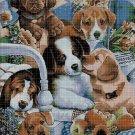 Dogs 2 cross stitch pattern in pdf DMC