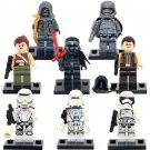 Star Wars Phasma KYLO REN Unkar's Thug 8Pcs Fit Lego Minifigure Toys Set