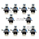 10pcs/lot shen yuan darth vader maul black red sith clone Troopers Minifigure fit Lego