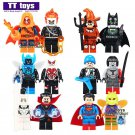 12pcs Scarecrow Keller Moth Gas Mask Batman Minifigure fit Lego