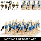 16pcs/lot Battle Droid Action Figure Super Heroes NO BASE Minifigure fit Lego